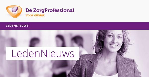 De Zorgprofessional: de branchevereniging voor professionals in de zorg